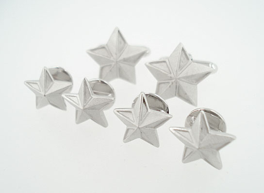 star cufflinks formal set