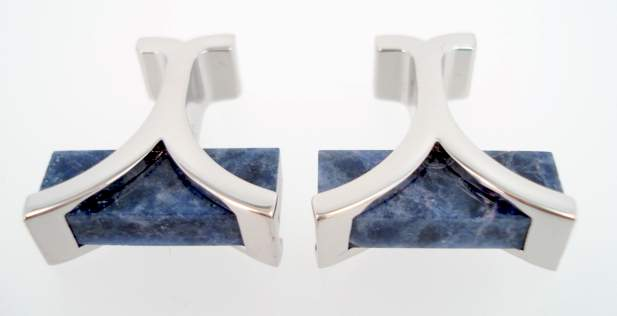 wd london lapis cufflinks