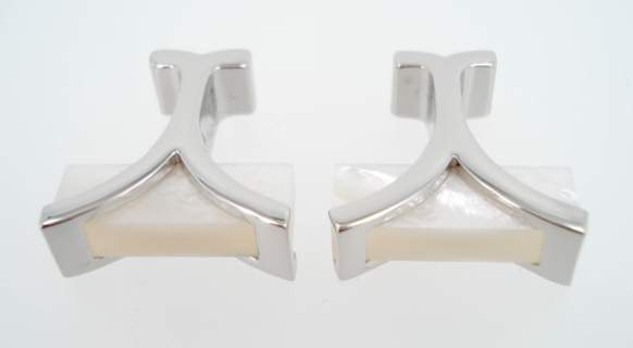 wd london pearl bar cufflinks