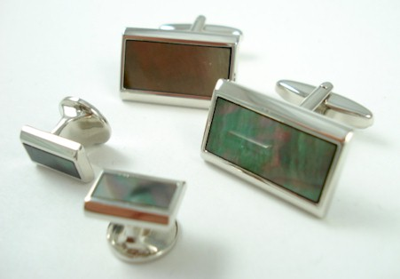 jonathan watchtel smoke mother of pearl rectangle 6pc set