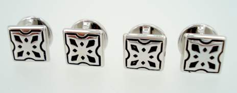 victorian square stud set