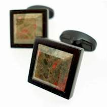 dragons blood stone cufflinks