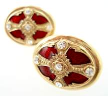 vatican library cufflinks