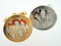 hand engraved cufflinks